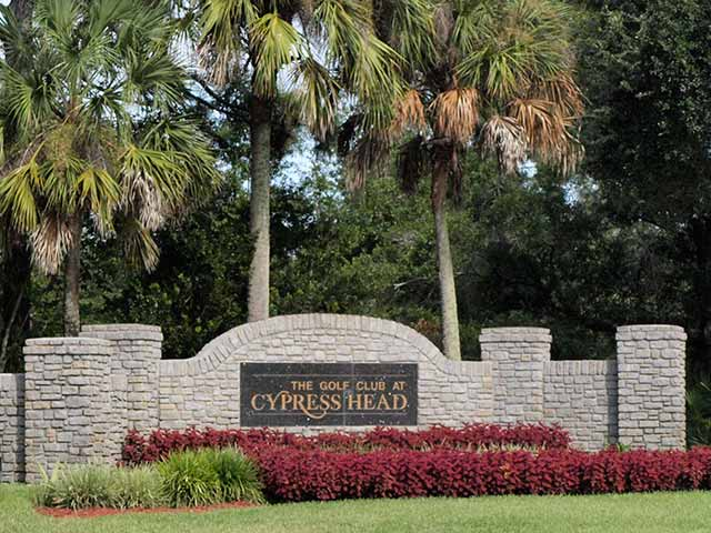 Cypress Head Homes Community Entrance