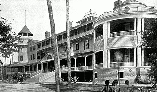 Ormond Beach Hotel in 1893