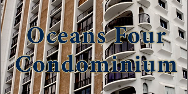 Oceans Four Condos for Sale in Daytona Beach Shores, Florida