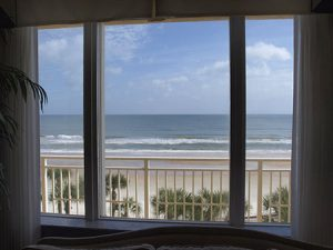 View of ocean - daytona beach